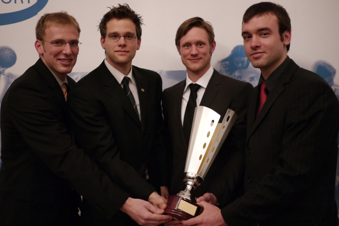 Die Mannschaft des Jahres 2010 in Bremen