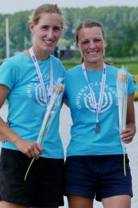 Ann-Kathrin Weber und Julia Strübig