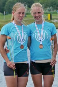 Melanie und Lisa Baues - Gold im SF2x LG und Bronze im SF2x